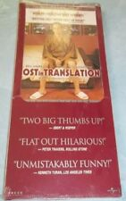 Lost in Translation (Dvd, 2004, Long Box, Pan Scan) New Unopened!