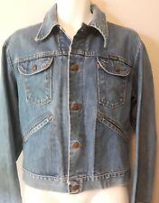 VTG WRANGLER jean jacket faded worn rustic USED BODHI tourist SZ 42