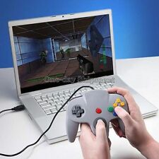 New Pro Nintendo 64 N64 USB Gaming Controller Joystick for PC MAC