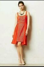 New $178 ANTHROPOLOGIE NERIA DRESS from VESSEL by TIMO WEILAND Size 4