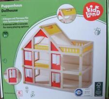 Orig. Kidland >>> Holz- Puppenhaus mit Dachterasse <<<