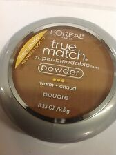 L'Oreal True Match Super-Blendable Powder W 9-5 DEEP WARM NEW.
