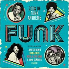FUNK - 2CD FUNK ANTHEMS COMPILATION (BRAND NEW SEALED DOUBLE CD)