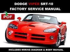 factory service repair manual ebay stores rh ebay com 2008 Dodge Viper 2015 Dodge Viper