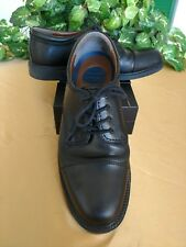 Dockers men's 11.5M black leather Oxford lace up shoes sturdy well made Gordon
