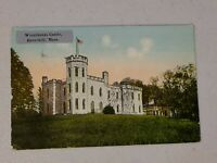 Vintage Postcard - Massachusetts - Winnikenni Castle Haverhill MA Posted #718