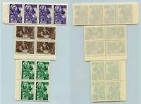 Russia USSR 1949 SC 1352 strip 1353-1354  block of 4 MNH . f8869