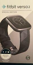 Fitbit Versa 2 Health & Fitness Smartwatch - Special Edition + Free Protectors