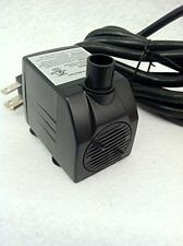 Small Submersible Fountain, Aquarium, Hydroponics Pump 120 GPH - APJR450