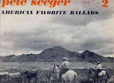 PETE SEEGER - American Favorite Ballads 2 LP Folk Rock Folkways 66
