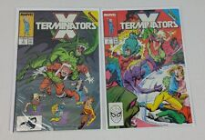 X-Terminators #2 3 Marvel 1988 X-Factor X-men Comic Book Mini Series