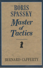 BERNARD CAFFERTY BORIS SPASSKY MASTER OF TACTICS FOURTH EDITION PAPERBACK 1991