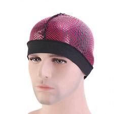 Unisex Womens Mens Satin Beanie Wide Band Head Wrap Elastic Hat Chemo Durag Cap