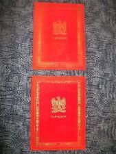 Napoléon Campagnes des Français sous le Consulat & l'Empire 2 tomes 1969