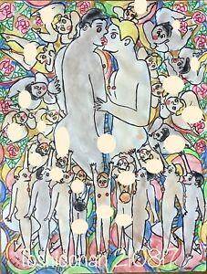 210817 MapOfMultiverse QMArt ORIGINAL NUDE MALE ART NU gay NAAKTKUNST TOSHICONAN