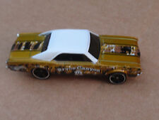 2014 Hot Wheels 67 OLDSMOBILE 442 14/32 Road Trippin' LOOSE Gold