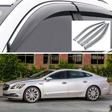 Car Window Visor Vent Shade Deflector Sun/Rain Guard for Buick LaCrosse 17 18 19