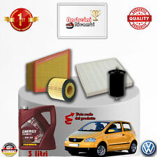 Filtres Kit D'Entretien + Huile VW Fox 1.2 40KW 55CV à partir de 2005 ->