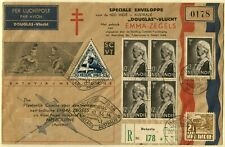 BATAVIA MELBOURNE Australia Round flight Netherlands Indies Airmail Cover 1934