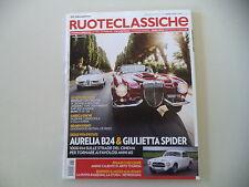 RUOTECLASSICHE 8/2015 FIAT 600 SCIONERI/BMW Z3/PEGASO Z 102/BENTLEY CONTINENTAL