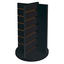 """New Bl 00006000 ack Countertop Spinner 4-Way Display 12""""w x 12""""d x 20-3/4""""h"""