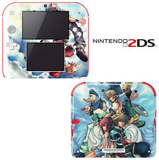 Vinyl Skin Decal Cover for Nintendo 2DS - Kingdom Hearts 3D Dream Drop Distance