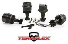 TeraFlex HD Upper & Lower Ball Joint Kit w/ Knurls Set of 4 fits 07-18 Jeep JK