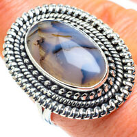 Montana Agate 925 Sterling Silver Ring Size 8.75 Ana Co Jewelry R57840F
