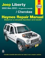 HAYNES AUTOMOTIVE REPAIR MANUAL JEEP 2001-2012 CHEROKEE KJ KK NEW Paperback Book