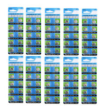 100 X AG13 LR44 SR44 L1154 357 A76 QUALITY ALKALINE BUTTON /COIN CELLS BATTERIES