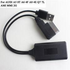 USB Bluetooth AUX IN Adapter Kabel For Audi A5 8T A6 4F A8 4E Q7 7L AMI MMI 2G