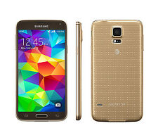 Samsung Galaxy S5 SM-G900A Unlocked 3G 4G WIFI Mobile Phone - 16GB 16MP - GOLD