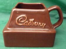 VINTAGE Cadburys Cioccolato Chunk Dolciumi TAZZA Pubblicità