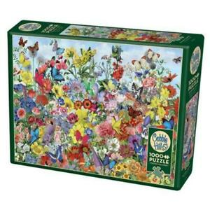 Cobble Hill 80032 Butterfly Garden 1000pc Puzzle Brand New