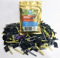 Mega GOLD 90 piece Weapons Pack For Lego & Other Minifigures Accessories NEW!