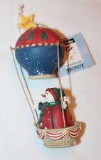 Midwest of Cannon Falls Jolly Follies by Sandi Hot Air Balloon Snowman Christmas