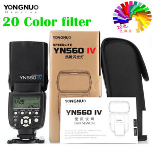 Yongnuo YN560 IV YN560IV Flash Speedlite for Pentax Olympus Canon Nikon Camera