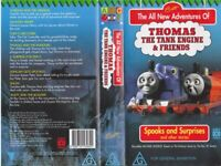 THOMAS THE TANK ENGINE SPOOKS AND SURPRISES !VHS VIDEO PAL A RARE FIND