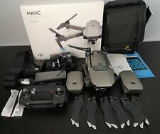 DJI Mavic Pro Platinum Fly More Combo Drone (Damaged) & Lots Of New Accessories