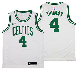 NIKE NBA Youth Boston Celtics Isaiah Thomas #4 Swingman Jersey, White