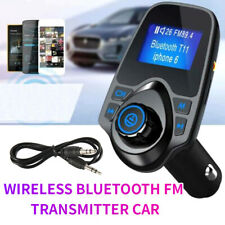 Wireless Bluetooth Car Kit FM Transmitter MP3 USB LCD Handsfree For Mobiles OM