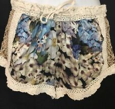 Sunday Shorts Multicolored Floral Silk Improve Ordered Lace Size Small