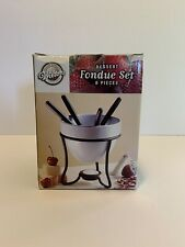 Wilton Dessert Fondue Set for 4 People New Non Electric Off Grid Friendly