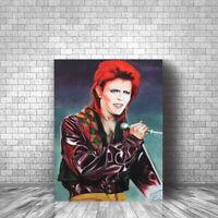 David Bowie Original Art Canvas Print