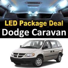 For 2001 - 2006 2007 Dodge Caravan LED Lights Interior Package Kit WHITE 15PCS