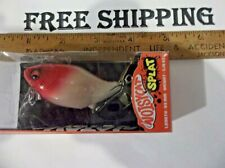 MEGABASS NOISY CAT SPLAT TOP WATER lure fat body night game RED HEAD COLOR