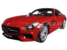 MERCEDES AMG GT RED EXCLUSIVE EDITION 1/18 DIECAST MODEL CAR BY MAISTO 38131