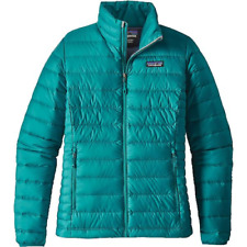 $229 NWT Patagonia Womens XS Down Sweater Jacket Elwha Blue  AUTHENTIC