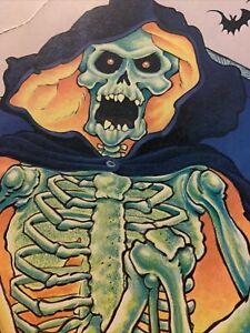 """Skeleton Halloween Die Cut, 13"""""""