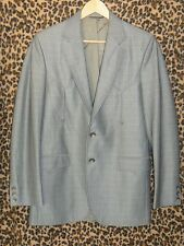 Vintage Circle S WESTERN suit Jacket 38 silver 60s 70s Rockabilly Twang Swing
